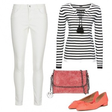 Outfit Borsa e scarpe colorate
