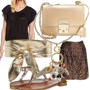 Outfit A passeggio con stravaganza