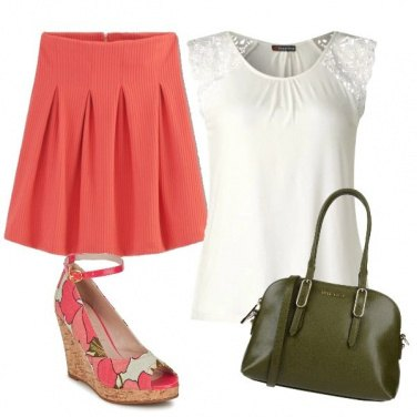 Outfit Zeppa fiorita