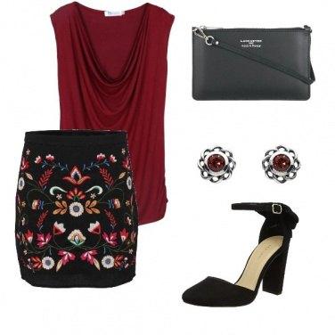 Outfit La gonna a fiori