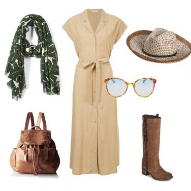 Outfit Safari chic