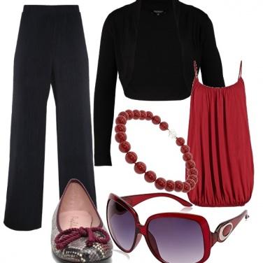 Outfit Nero passepartout