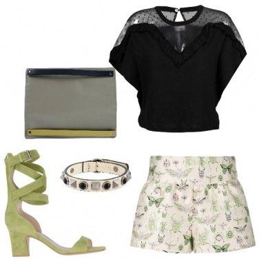 Outfit Shorts e sandali