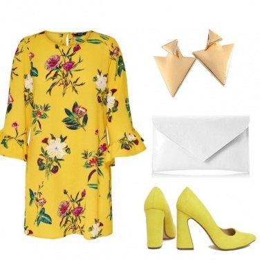 Outfit Giallo d\'estate