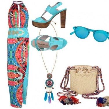 Outfit Un'esplosione di colori