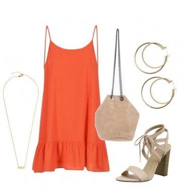 Outfit L\'abito arancione
