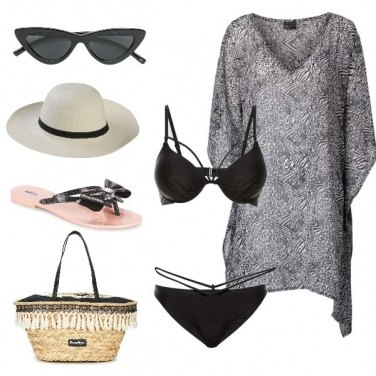 Outfit Chic anche in spiaggia