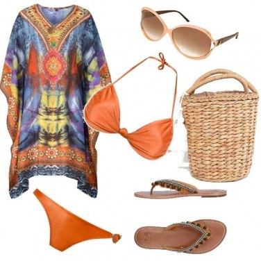 Outfit Etnico al mare