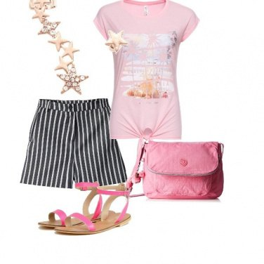 Outfit L' orecchino a stelle