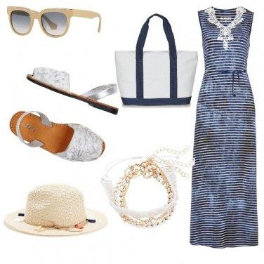 Outfit Basic, con le amiche al mare