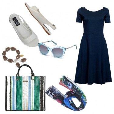 Outfit Chic, shoppig a Saint Tropez