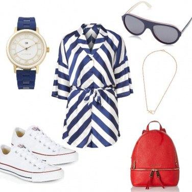 Outfit Nel blu un pizzico di Rosso