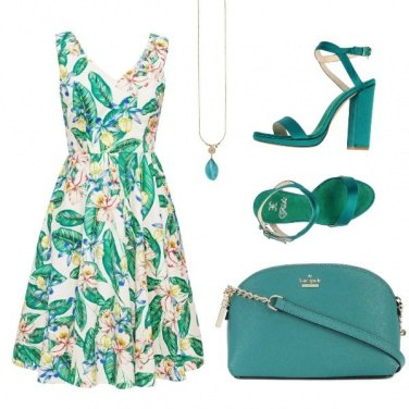 Outfit Total green