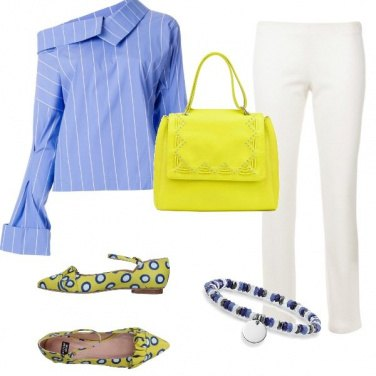 Outfit Le mille bolle blu