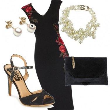 Outfit La Rosa rossa