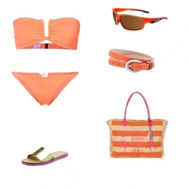 Outfit Stile arancio