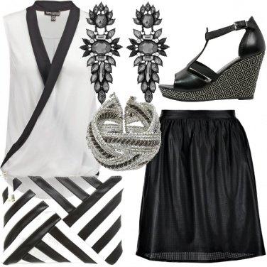 Outfit L\'intramontabile coppia black & white