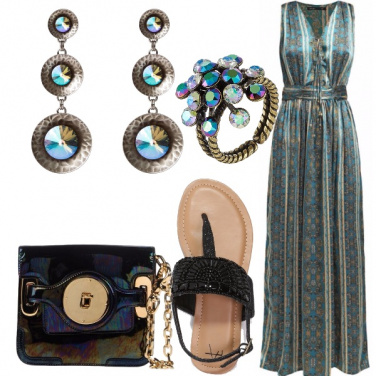 Outfit Summer gipsy chic