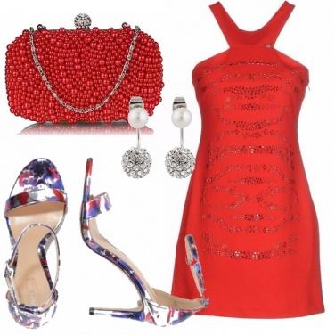 Outfit Rosso di sera...
