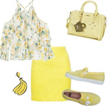 Outfit Giallo in sun