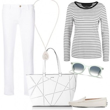 Outfit Bianco minmal