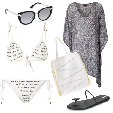 Outfit Messaggi in spiaggia