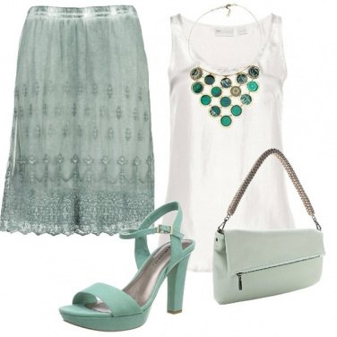 Outfit Verde salvia