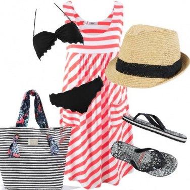 Outfit Righe per il mare