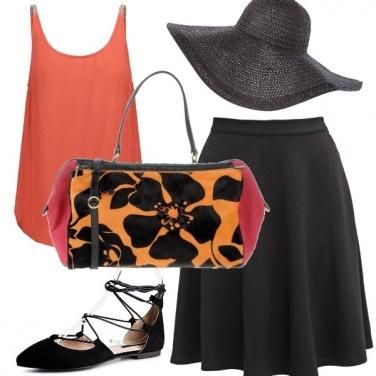 Outfit E\' la borsa che fa la differenza