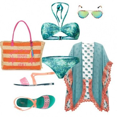 Outfit In piscina in compagnia