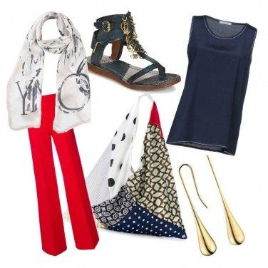 Outfit CMPS La borsa è la protagonista