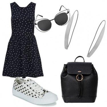 Outfit La scarpa a pois