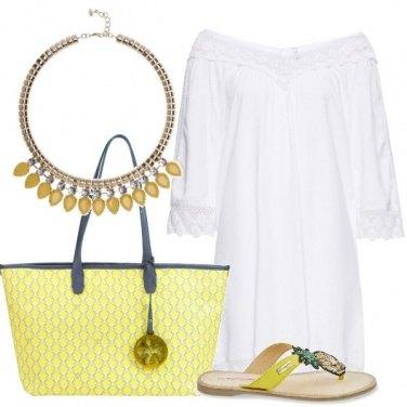 Outfit Gocce di giallo