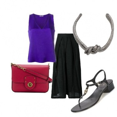 Outfit Ultraviolet & magenta