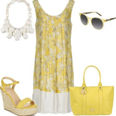 Outfit Fresca in giallo