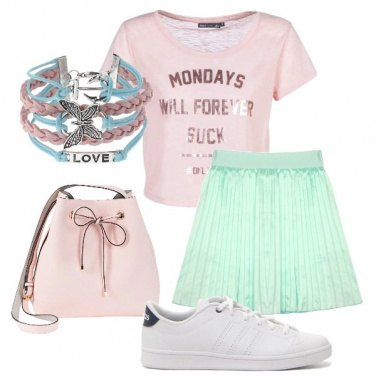 Outfit Teenager impertinente
