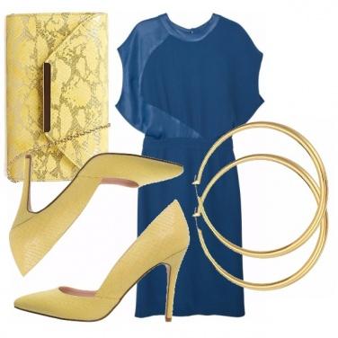 Outfit Pitone giallo
