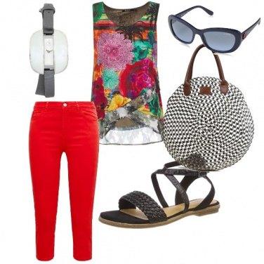 Outfit La borsa rotonda