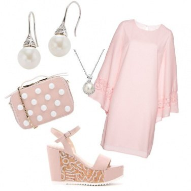 Outfit Fresca in rosa