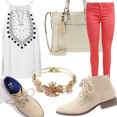 Outfit Stringate e trendy