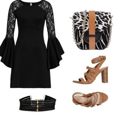 Outfit Chic animalier