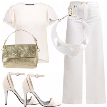 Outfit Stupisci in total white