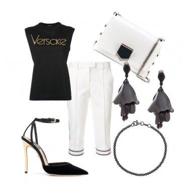 Outfit Che stile col pinocchietto