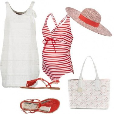 Outfit Pancino al mare