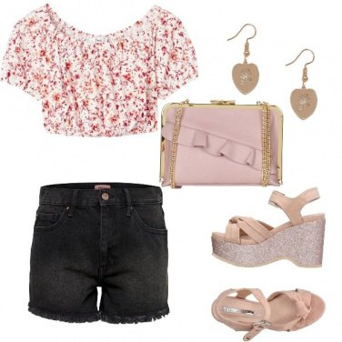 Outfit Top romantico