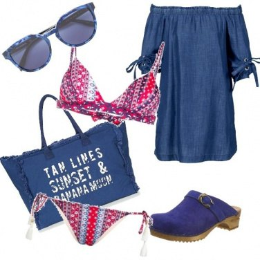 Outfit Casual beach