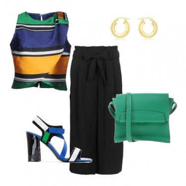Outfit Top a colori