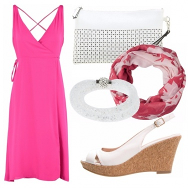 Outfit Pink&white