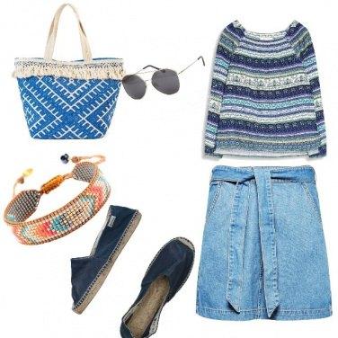 Outfit Urban, al mare