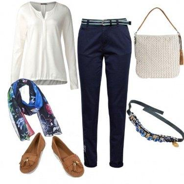 Outfit Basic, in relax per la città